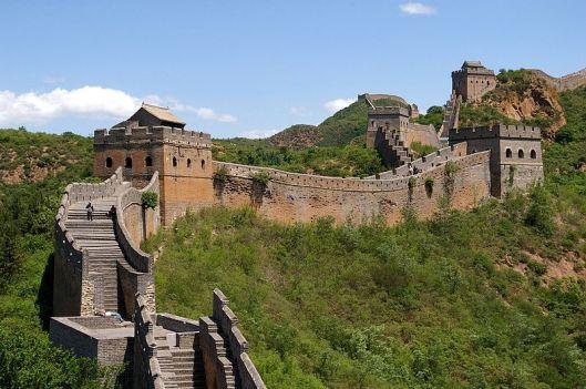 La Grande Muraglia presso Jinshanling, foto di Jakub Hałun